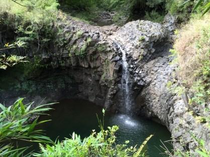 Maui Hawaii - Wasserfälle (mal mit Wasser)