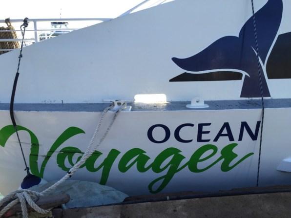 Maui Hawaii - Maalaea Harbor - Boot Ocean Voyager