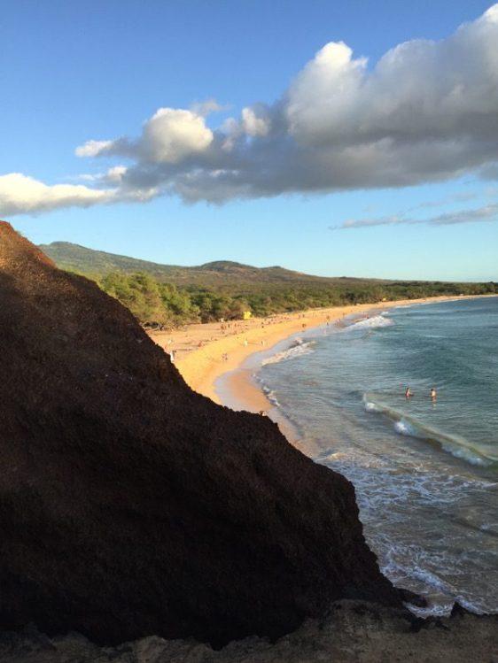 Maui Hawaii - Blick auf den Big Beach