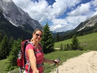 Leutasch - erster Tag, erste Wanderung