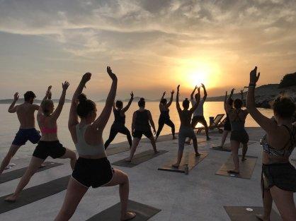 Obonjan_Kroatien - eine super schöne Yoga Session zum Sunset