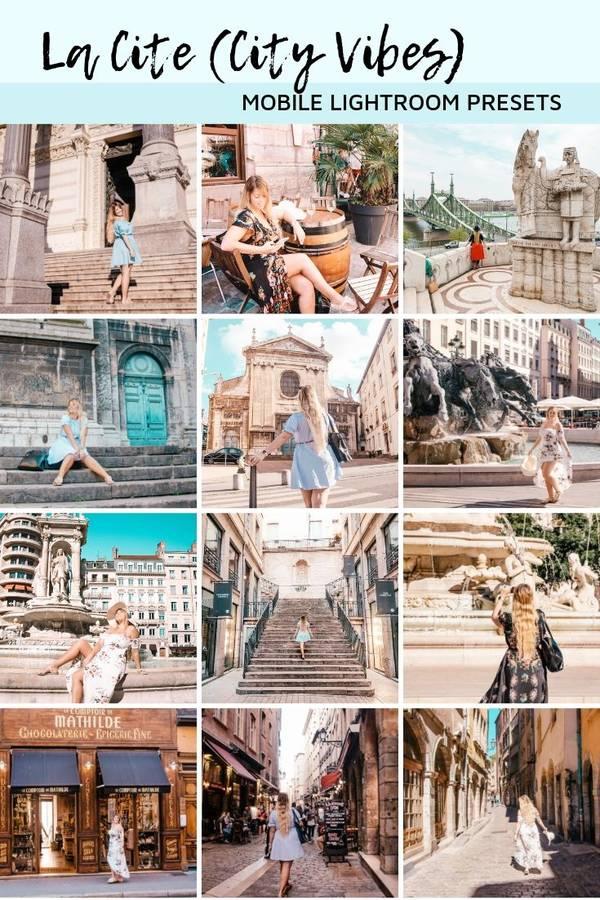 Lightroom Preset Pack for Instagram - Lyon (MOBILE + DESKTOP