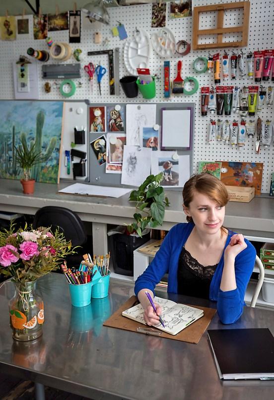 Laura Bonnie - Portrait