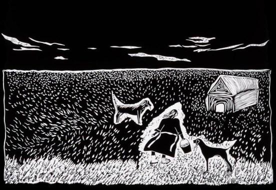 Art print by Maura Byrne