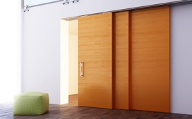 Sistema scorrevole per porte in legno classic