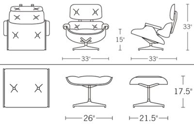 eames chair plan cad aboriginal59lyf