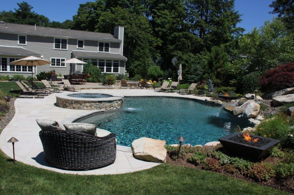 pool design installation in boston