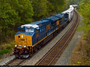 RailPictures.Net Photo: CSXT 3302 CSX Transportation (CSXT) GE ET44AC at Boyd, Kentucky by Tyler Hardin