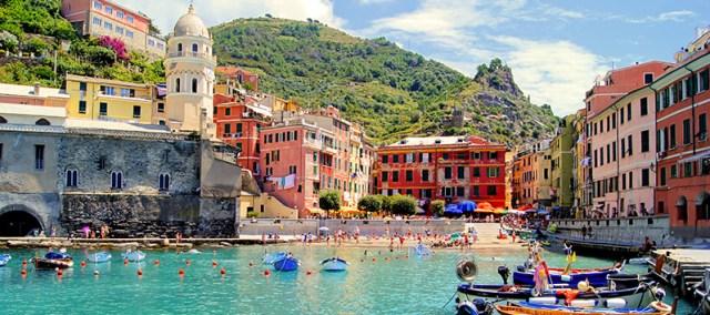 destinos para puentes de 3 días, Cinque Terre (Italia)