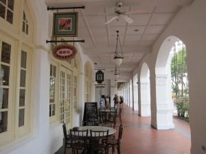 The Raffles Hotel and Empire Cafe, Singapore