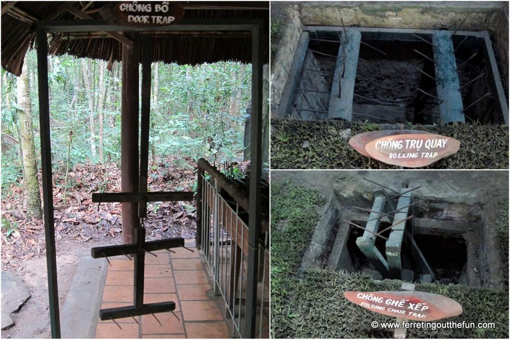 cu chi tunnels tour