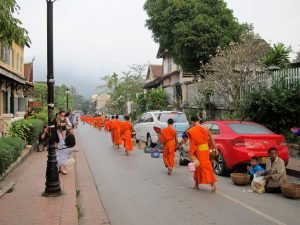The Alms-Giving Ceremony of Luang Prabang
