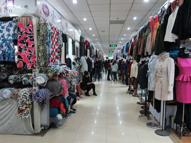 Fabric Market Stall 337