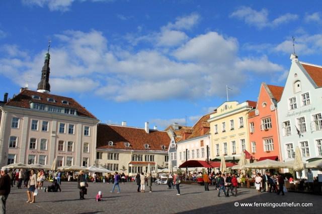Old Town Hall Square, Tallinn