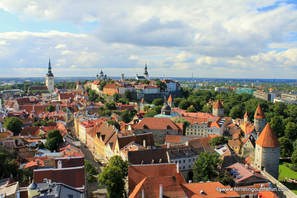 Best view of Tallinn, Estonia