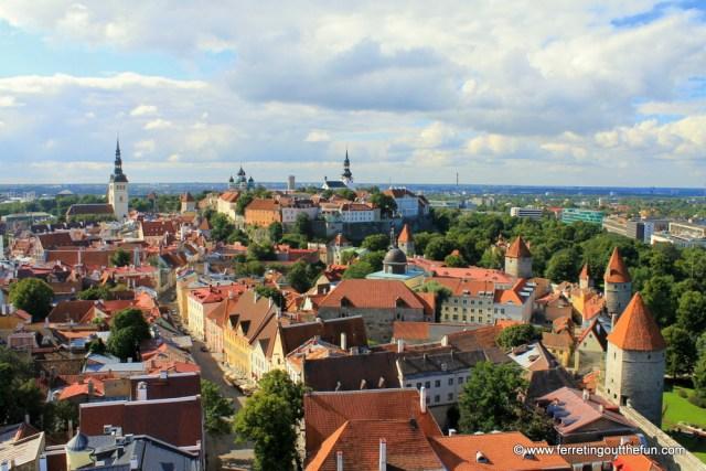 Best view of Tallinn, Estonia
