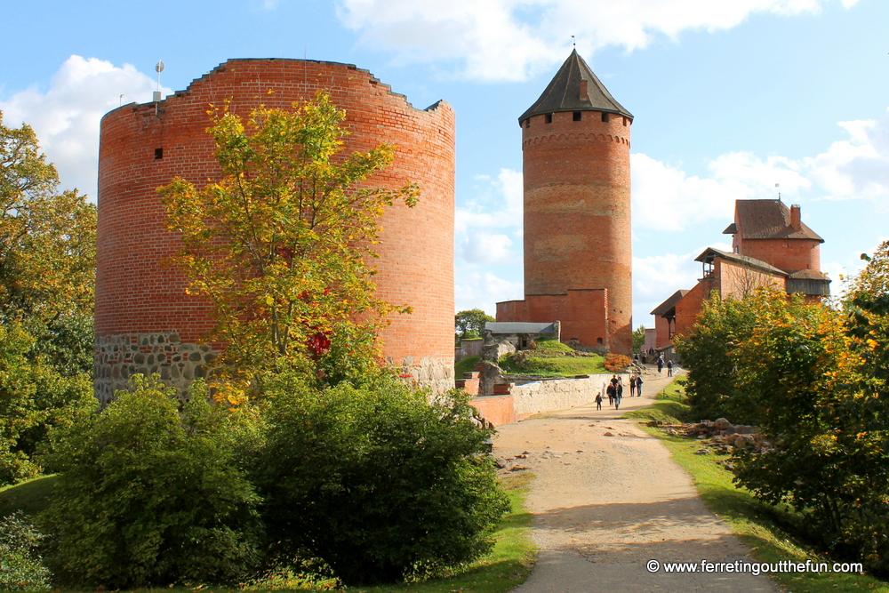 Turaida castle ruins
