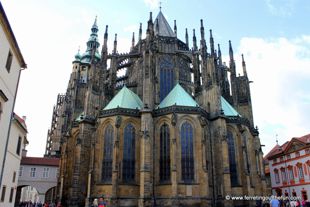 prague castle cathderal