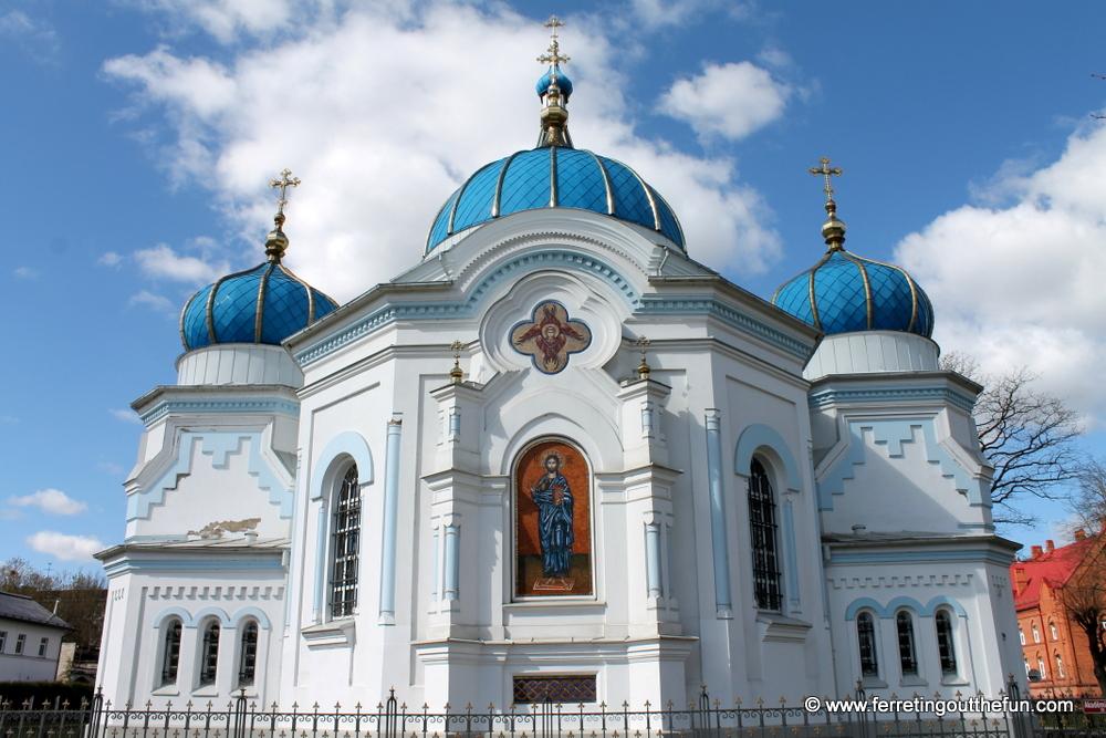 Jelgava orthodox cathedral