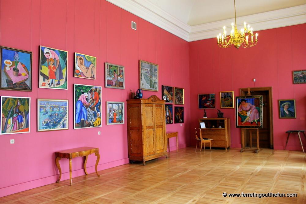 Latvian paintings