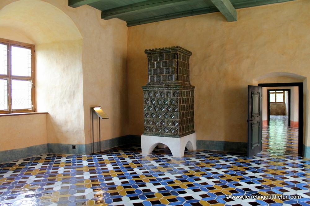 Bauska Castle Interior
