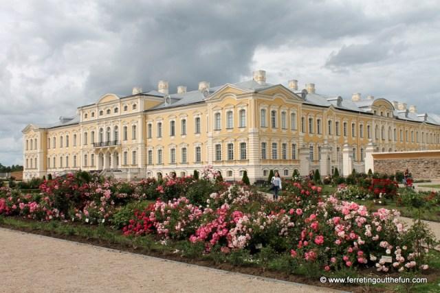 Rundale Palace Rose Garden