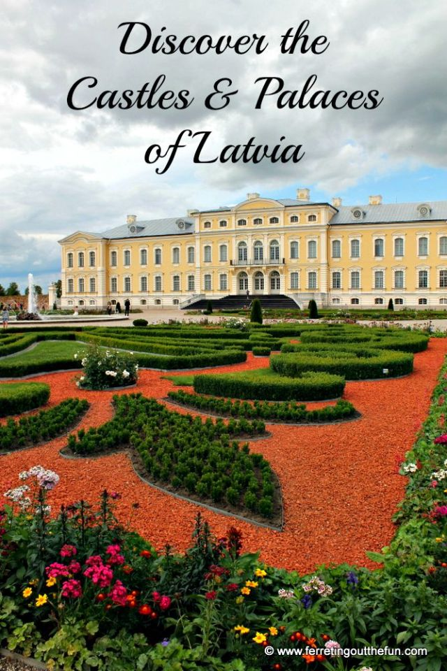 Latvia Castles and Palaces Guide