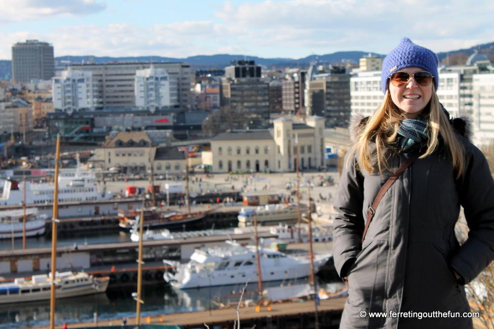 Oslo in April