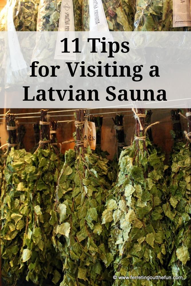 Latvian sauna ritual