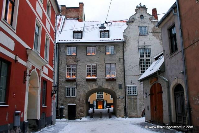 riga swedish gate
