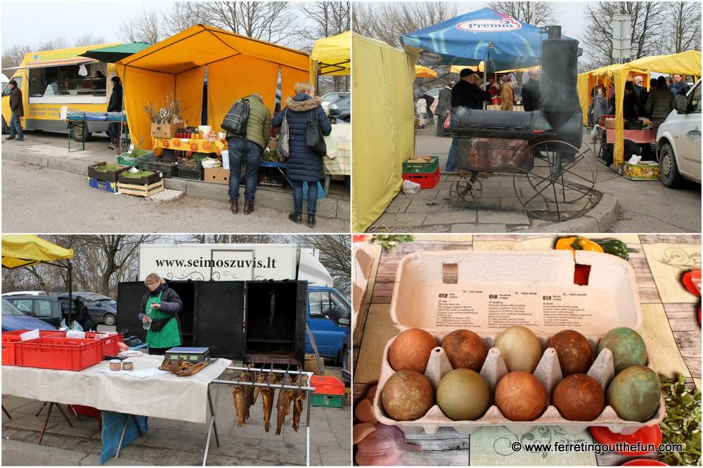 Kaunas farmer's market