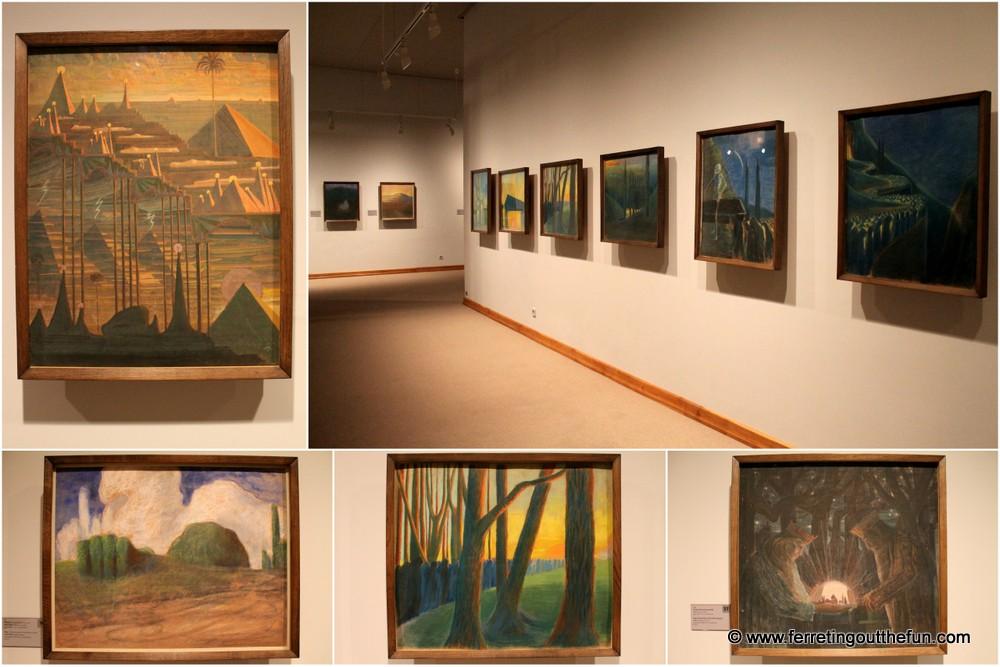 M K Ciurlionis paintings