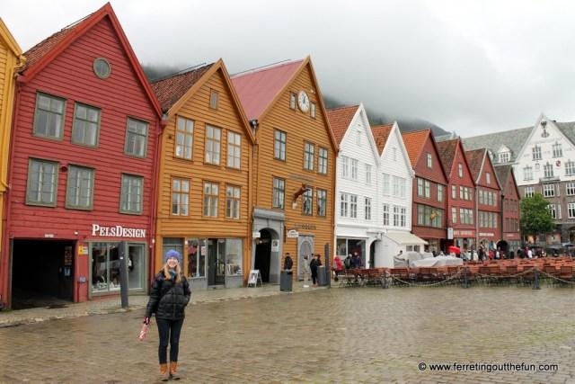 Bryygen in Bergen Norway