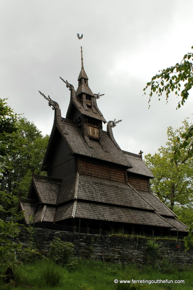 Stave Church in Bergen, Norway