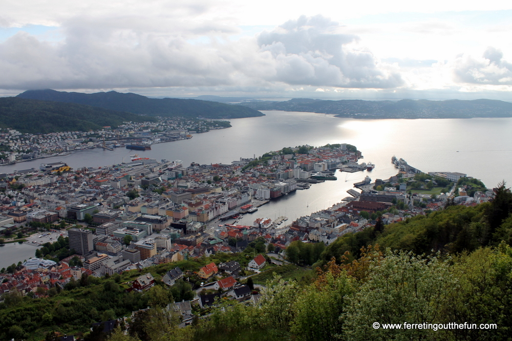 Bergen Mt Floyen Viewpoint