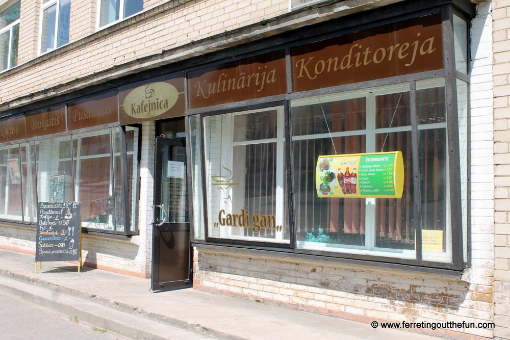 Where to Eat in Dobele Latvia