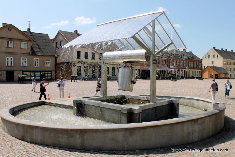 Dobele Well Fountain