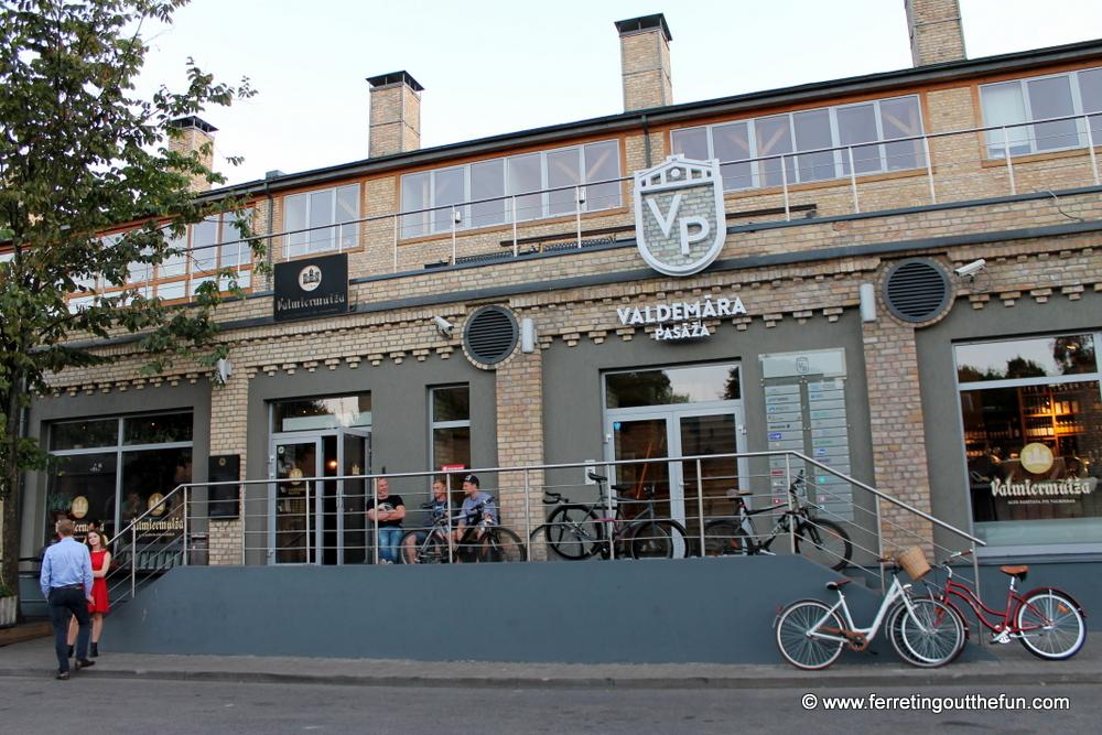 Valmiermuiza Beer Kitchen Riga