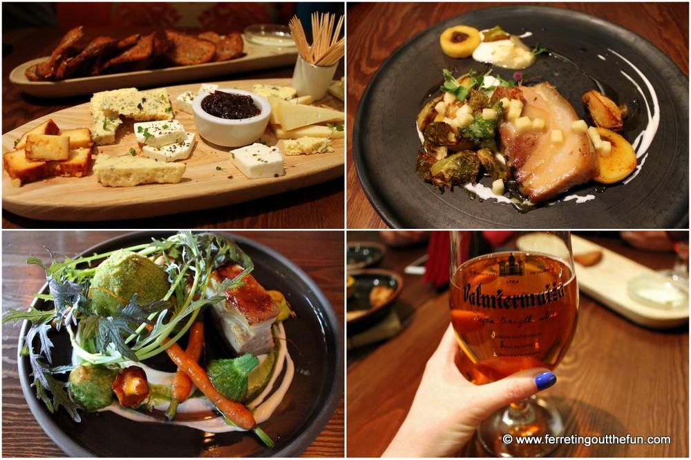 Valmiermuiza Alus Restaurant Riga