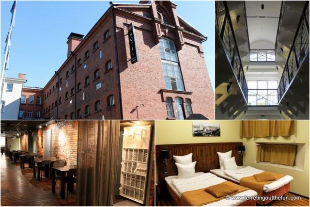 Helsinki prison hotel