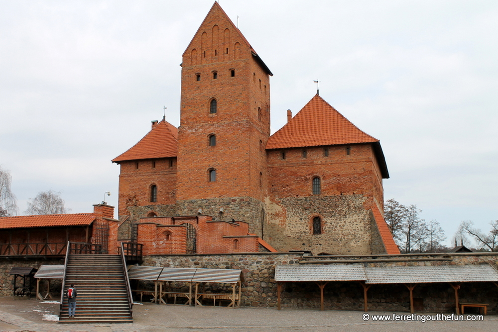 trakai castle restoration