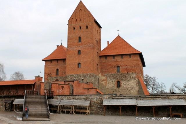 trakai castle restoration