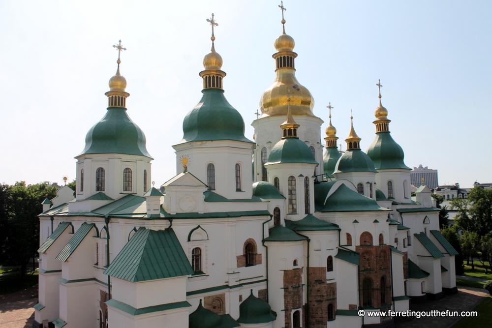 Kyiv St Sophias Cathedral UNESCO