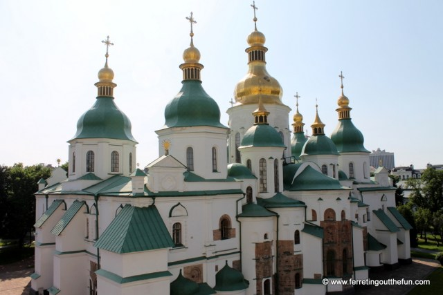 Kyiv St Sophias Cathedral UNESCO
