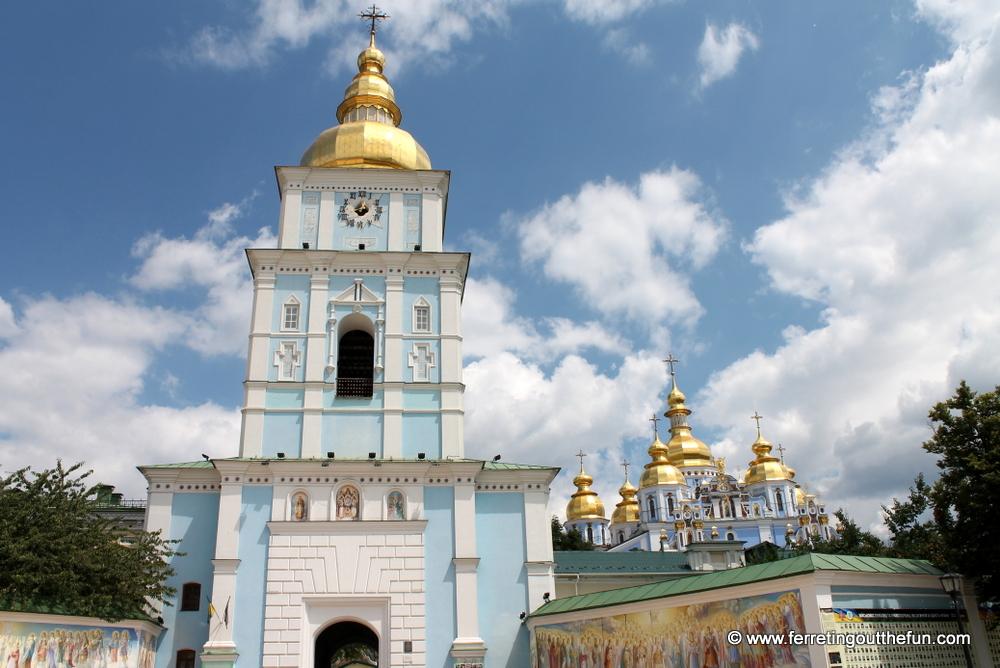 Kyiv St Michaels Golden Domed Monastery