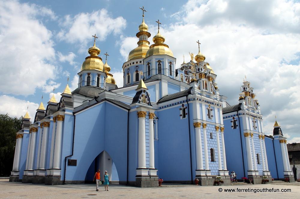 St Michaels Golden Domed Monastery Kyiv