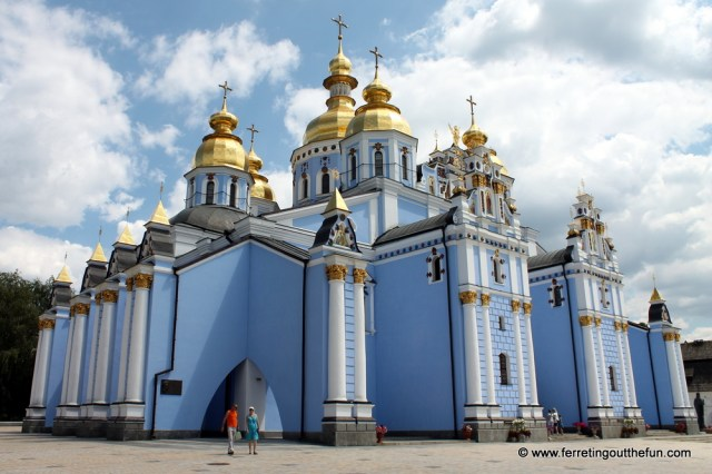 St Michaels Golden Domed Monastery Kyiv