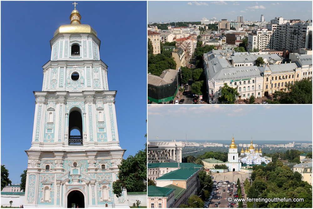 St Sophia Bell Tower Kyiv
