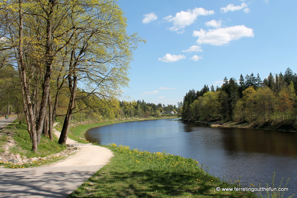 ogre river latvia