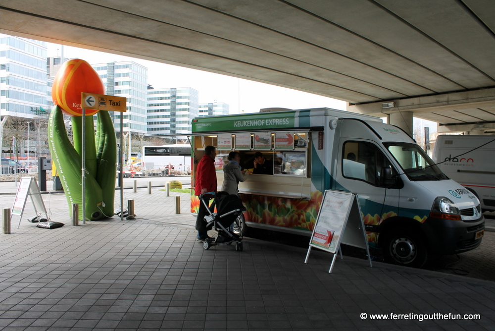 amsterdam to keukenhof bus